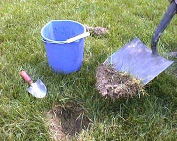 soil sample tools